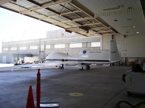 GH in Hangar