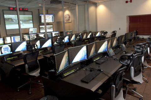 Payload Ops Room of GHOC