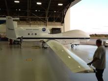 Preparing to weigh AV-6 (9.20.12)