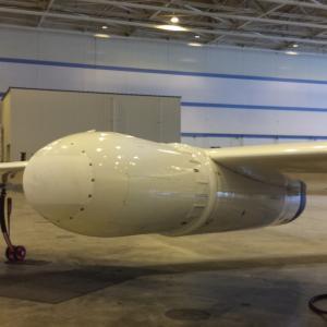 A-SMLS in spearpod mounted on ER-2
